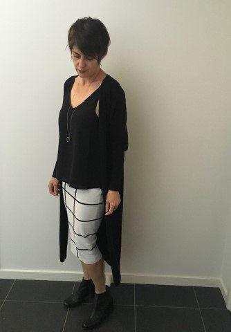 Australian winter fashion tips 2017 black cardigan