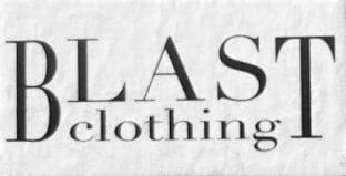 Blast clothing brand